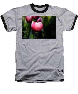 Baseball T-Shirt featuring the photograph In The Spotlight by Andrea Platt