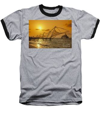 Baseball T-Shirt featuring the photograph India Cochin by Juergen Held