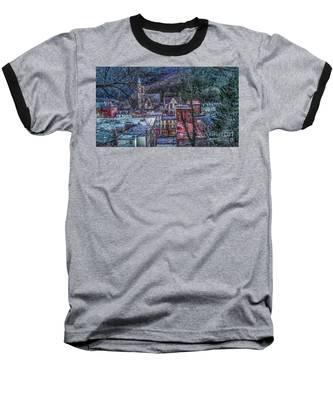 Jim Thorpe Pennsylvania In Winter #1 Baseball T-Shirt