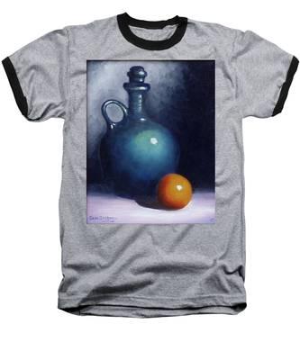 Jug And Orange. Baseball T-Shirt