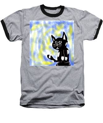 Kitty Kitty Baseball T-Shirt