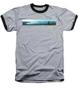 Laketahoe Panorama Baseball T-Shirt