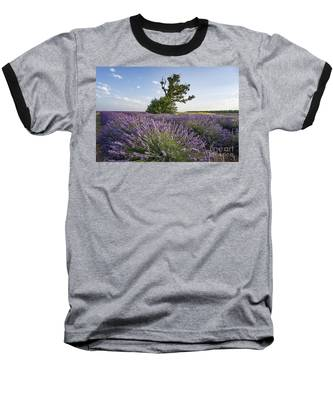 Lavender Provence  Baseball T-Shirt by Juergen Held
