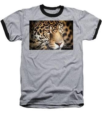 Leopard Face Baseball T-Shirt