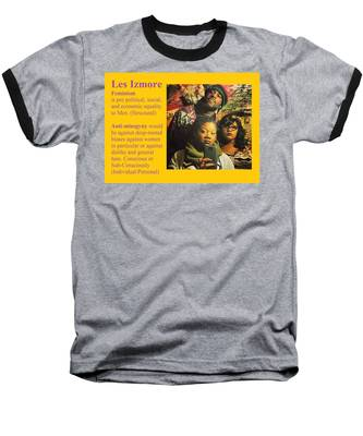 Les Izmore Feminism Baseball T-Shirt