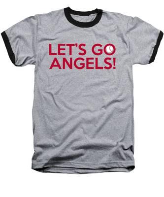 Let's Go Angels Baseball T-Shirt