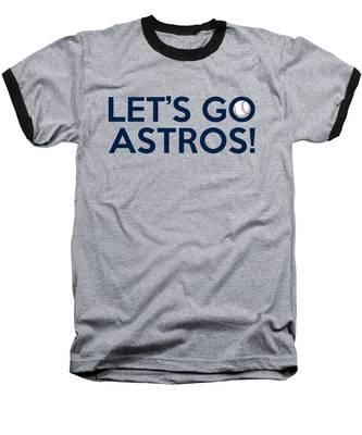 Let's Go Astros Baseball T-Shirt