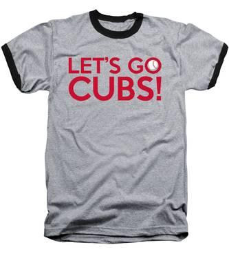 Let's Go Cubs Baseball T-Shirt