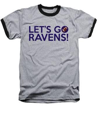 Let's Go Ravens Baseball T-Shirt