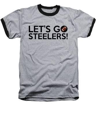 Let's Go Steelers Baseball T-Shirt