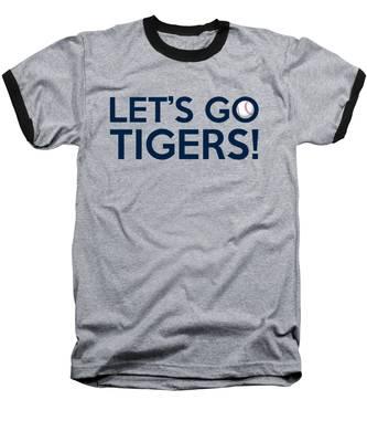 Let's Go Tigers Baseball T-Shirt