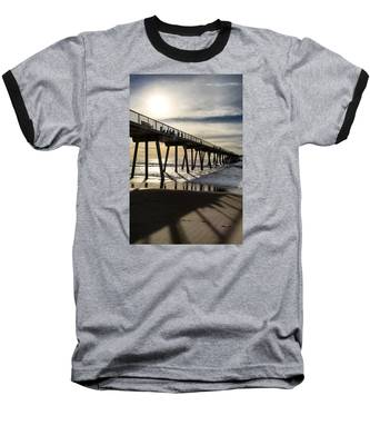 Light Of The Pier  Baseball T-Shirt