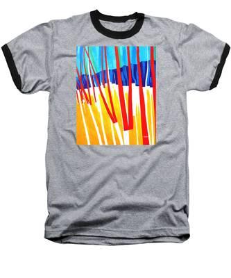Light Through The Trees Baseball T-Shirt