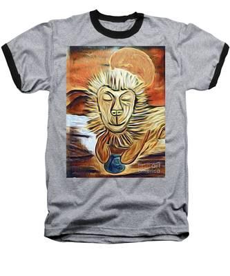 Lion Of Judah II Baseball T-Shirt