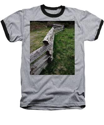 Log Fence Baseball T-Shirt