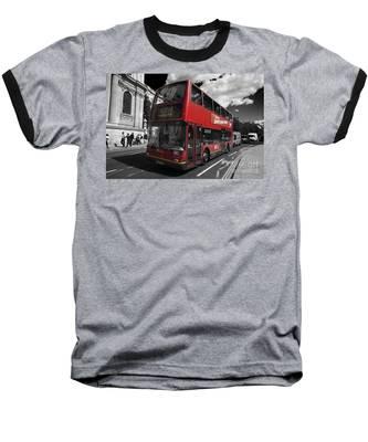 London Bus Baseball T-Shirt