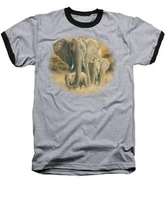 Loving Mother Baseball T-Shirt