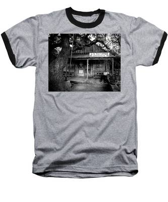 Luckenbach Texas Baseball T-Shirt