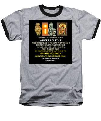 Ma Ra Solstice Baseball T-Shirt