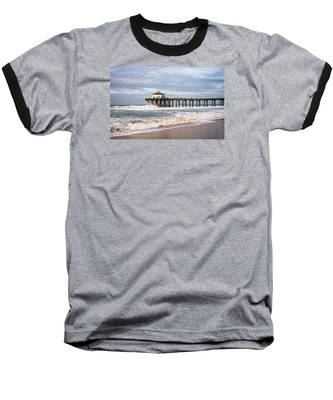 Manhattan Pier With Two Tankers Baseball T-Shirt