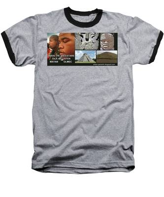 Mayan Olmec Baseball T-Shirt