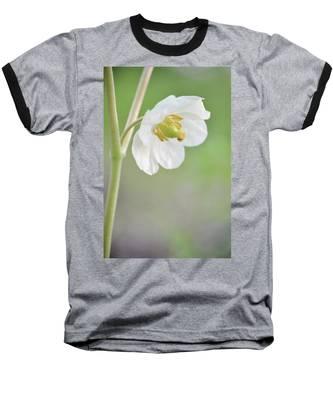 Mayapple Flower Baseball T-Shirt