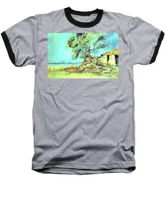 Mayorcan Tree Baseball T-Shirt