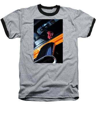 Midnight Dice In A Hot Rod Baseball T-Shirt