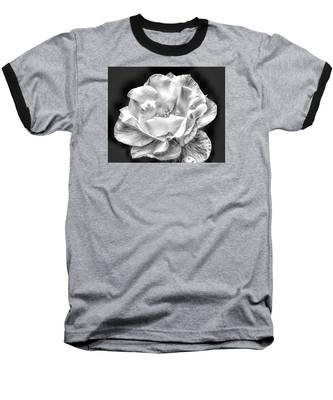 Midnight Rose Baseball T-Shirt