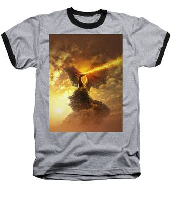 Mighty Dragon Baseball T-Shirt