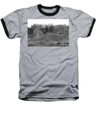Mill At Clinton Among The Reeds Baseball T-Shirt