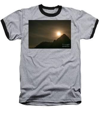 Moon Rising Baseball T-Shirt