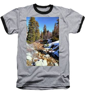 Mountain Scene Baseball T-Shirt