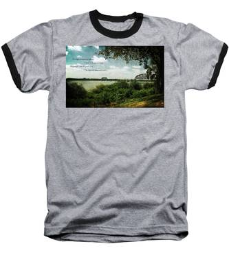 Natures Poetry Baseball T-Shirt