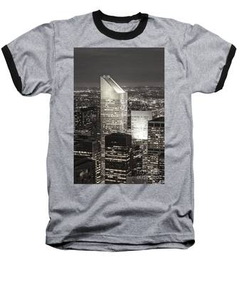 Baseball T-Shirt featuring the photograph New York Citigroup Center  by Juergen Held