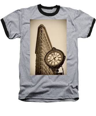 Baseball T-Shirt featuring the photograph New York Flatiron by Juergen Held