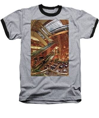 Baseball T-Shirt featuring the photograph New York Trump Tower  by Juergen Held