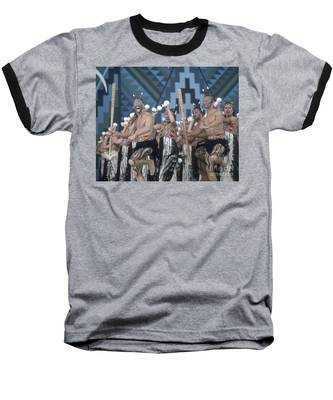 Baseball T-Shirt featuring the photograph New Zealand,north Island,  Rotorua Arts Festival,dance And Singi by Juergen Held