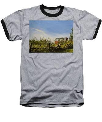 October Fence Baseball T-Shirt