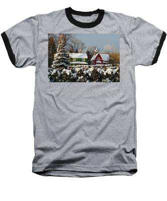 October Snow Baseball T-Shirt