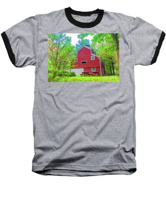 Out In The Country Baseball T-Shirt