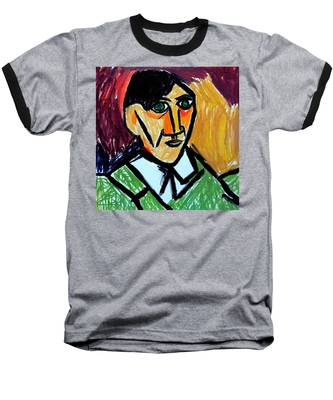 Pablo Picasso 1907 Self-portrait Remake Baseball T-Shirt