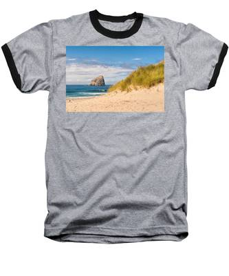 Pacific Beach Haystack Baseball T-Shirt