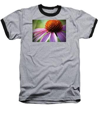 Baseball T-Shirt featuring the photograph Petal's Edge by Andrea Platt