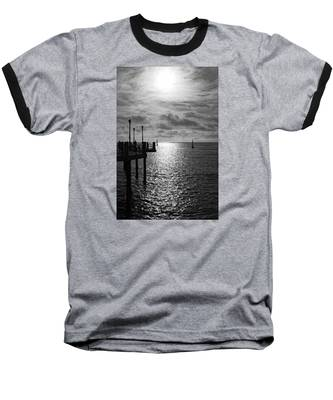 Pier Into The Sun Baseball T-Shirt