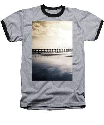 Pier On Duotone Baseball T-Shirt