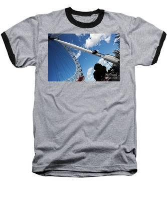 Pillar Of London S Ferris Wheel  Baseball T-Shirt