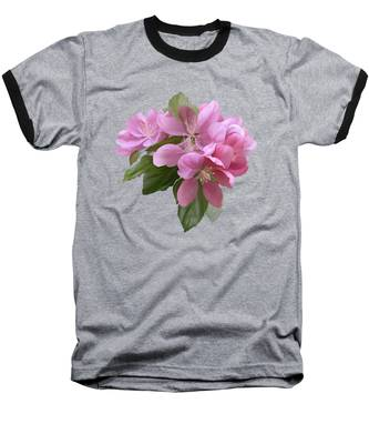 Pink Blossoms Baseball T-Shirt