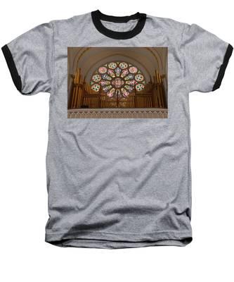 Pipe Organ - Church Baseball T-Shirt