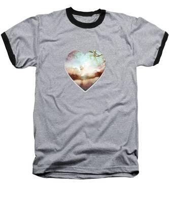 Porcelain Skies Baseball T-Shirt